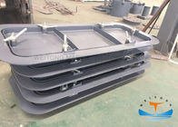 Fireproof Marine Hatch Doors , Gastight Single Marine Steel Doors For Vessel