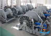 One Warping Heads Mooring Winch For Ships , Marine Hydraulic Winch Remote Control