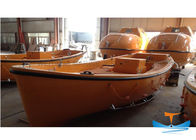 5.5-9m Fiberglass Lifeboat Rescue Boat 5.5x2x0.85m Dimensions Smooth Surface