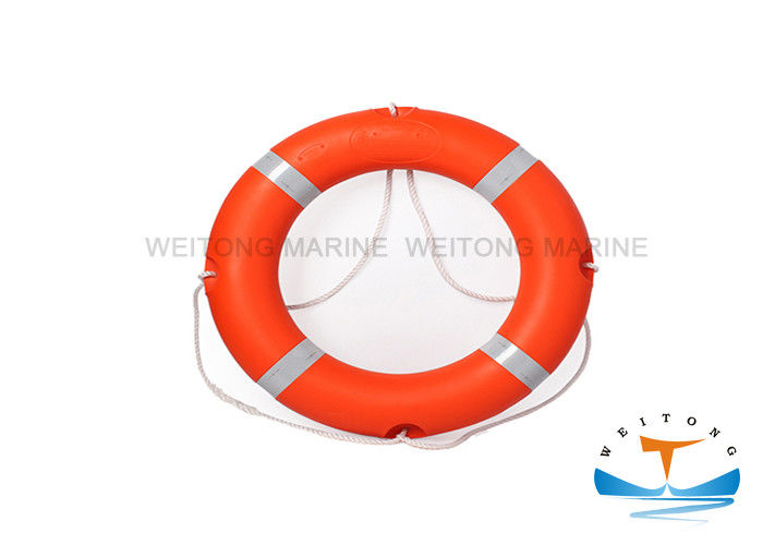 2.5kg Marine Safety Equipment Life Buoy EC Certificate Solas Reflective Tape