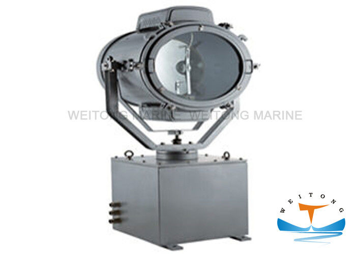 Ship Remote Control Marine Spot Lights , Marine Searchlight 1000W TZ1-A For Vessel
