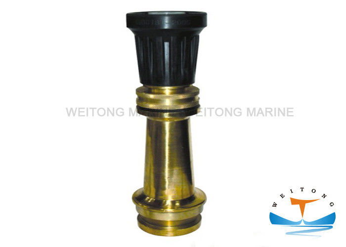 Matal High Pressure Hose Nozzle , Water Hose Jet Nozzle For Firefighting