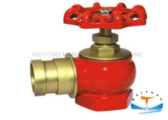 Brass Machino Type Fire Hydrant for Marine Use