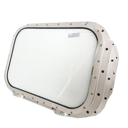 Fixed Rectangular Large Porthole Window Non - Opening For Wheelhouse Observation