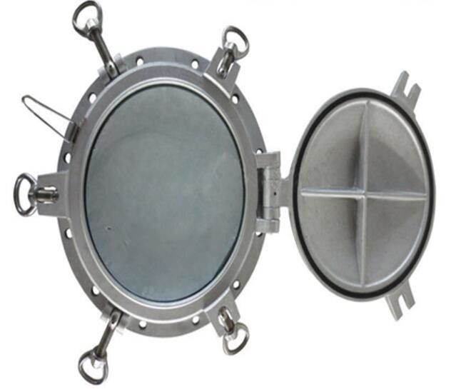 A60 Fire-Proof Steel Marine Side Scuttle Fire Protection Porthole Window