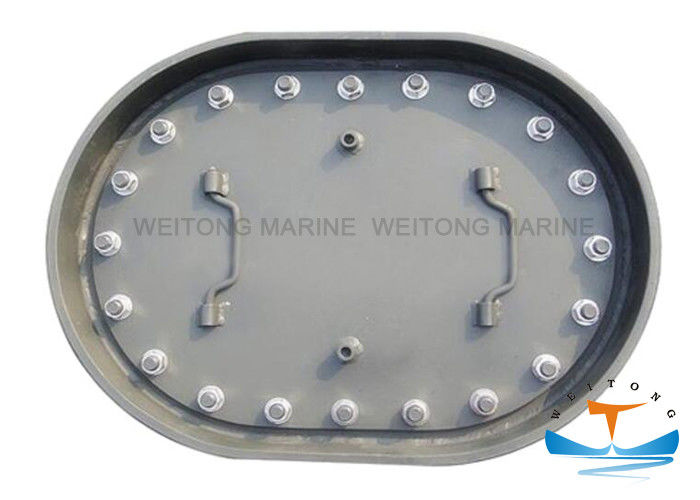 C Type Marine Hatch Cover Embedded Manhole Cover CB/T 19-2001 Standard