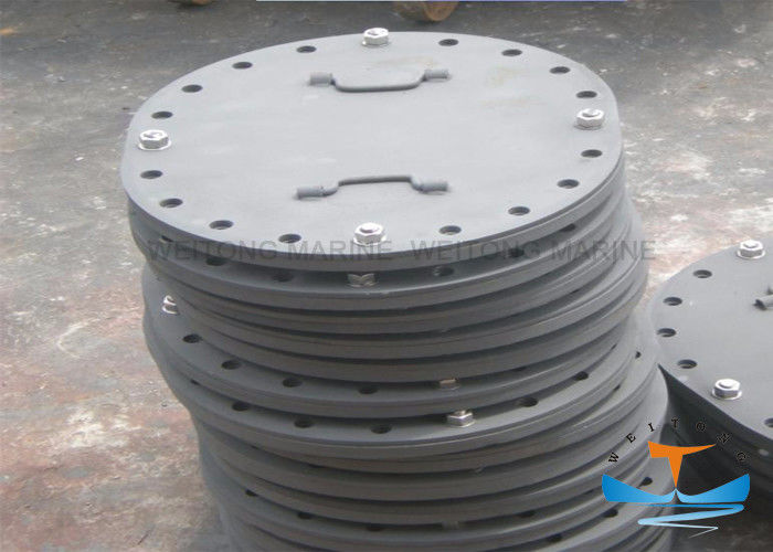 Boat Stainless Steel Manhole Cover CB/T 19-2001 Standard 28.8kg Weight