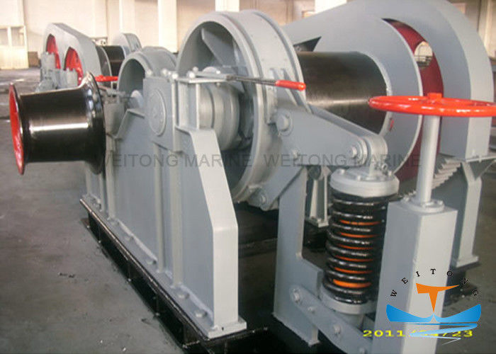 Ship Deck Equipment Marine Electric Winch Perfect Starting 5-2000 KN Rated Pull