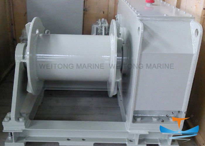 Large Torque Marine Electric Winch Easy Operation 12mm-76mm With Singe Drum