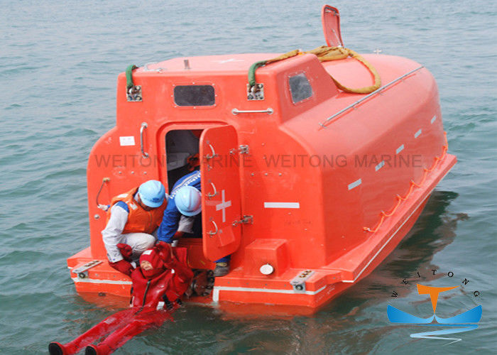 Anti - Skid Surface Totally Enclosed Lifeboat High Strength Meet With LSA Code