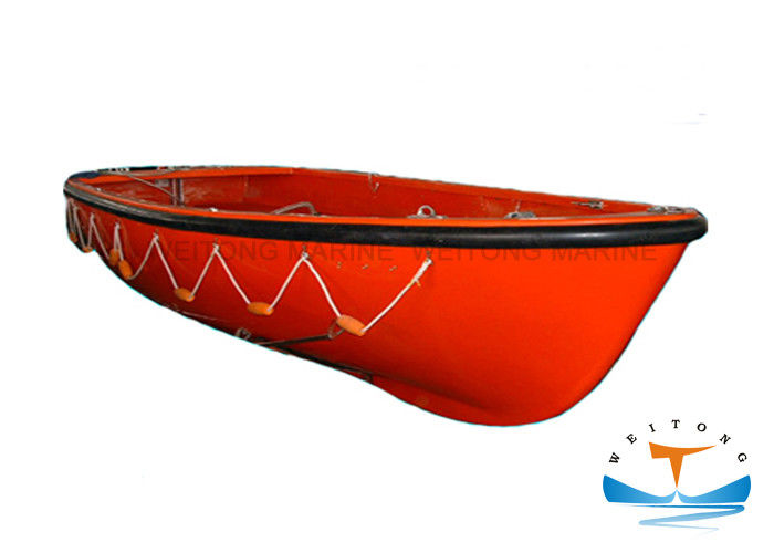 High Durability Lifeboat Rescue Boat Open Cooling Mode Fiber Reinforced Plastic Material