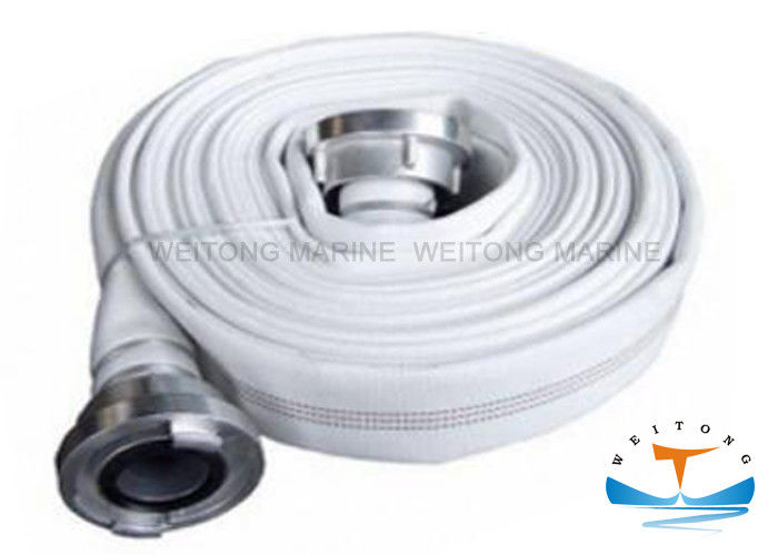 EPDM Marine Fire Fighting Equipment Durable Fire Hose With Storz Coupling