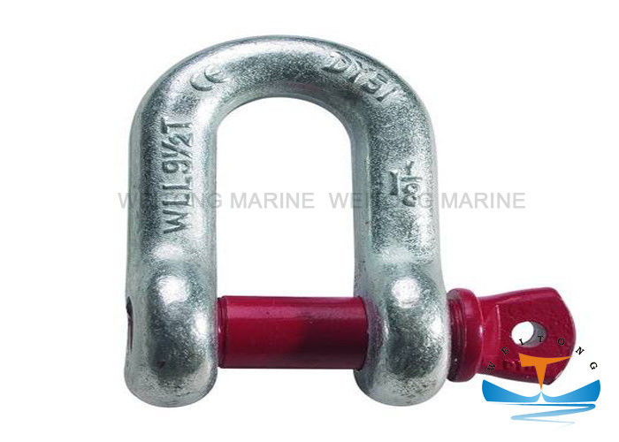 US Type Rigging Lifting Equipment Zinc Plated Screw Pin Chain Shackle