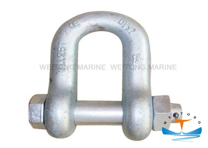 Safety Rigging Lifting Equipment G2150 Bolt Type Chain Shackle 0.5-85T WLL