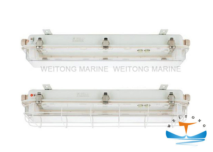 220V/50HZ 2x30W Marine Fluorescent Pendant Lights JCY32 for Ship