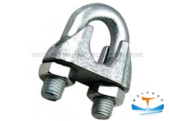 Customized Size Rigging Lifting Equipment DIN741 Wire Rope Clamp