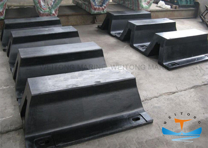 Solid Structure Marine Safety Equipment Super Arch Rubber Fender V Type